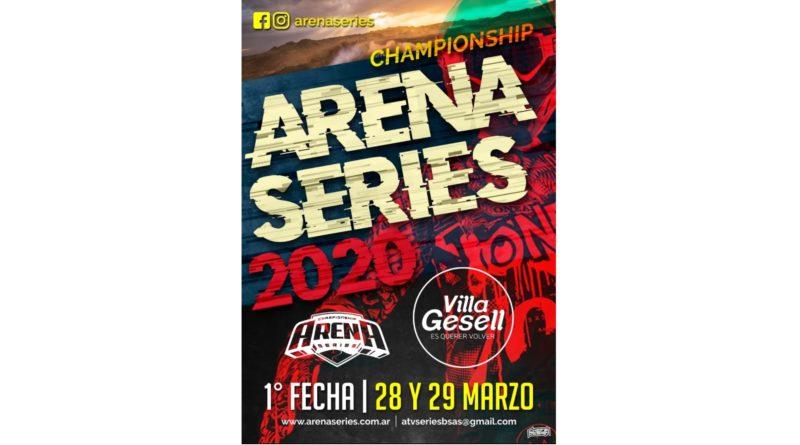 Fecha apertura ARENA SERIES 2020 – 28 y 29 Marzo en VILLA GESELL